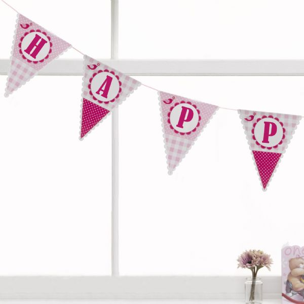 A Little Bird Told Me Bunting